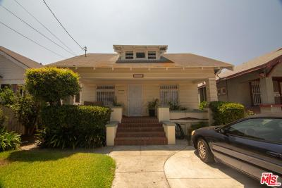 Los Angeles Single Family Home For Sale: 1594 West 35th Place