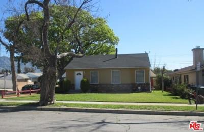 Burbank Single Family Home For Sale: 1644 North Naomi Street