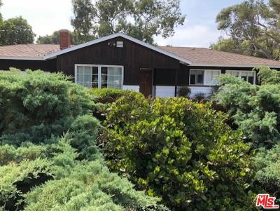 Malibu Single Family Home For Sale: 6607 Wandermere Road Road