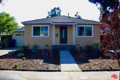 Encino Single Family Home For Sale: 5731 Lasaine Avenue