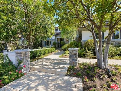 Calabasas Single Family Home Sold: 3912 Coral Place