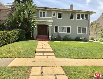 Los Angeles Single Family Home For Sale: 2000 Wellington Road