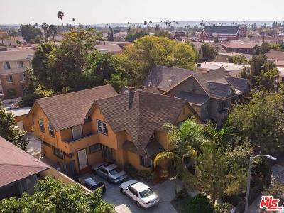Los Angeles Single Family Home For Sale: 1782 West 25th Street