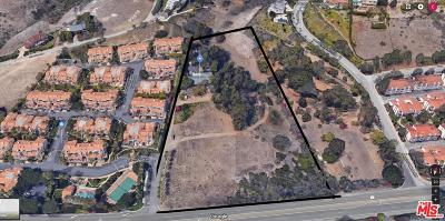 Malibu CA Residential Lots & Land For Sale: $15,000,000