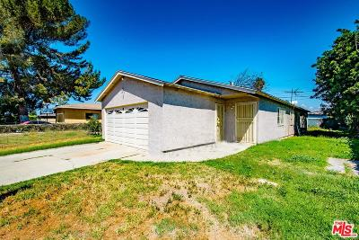 Compton Single Family Home For Sale: 935 West 133rd Street