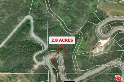 Malibu Residential Lots & Land For Sale: 2501 Latigo Canyon Road