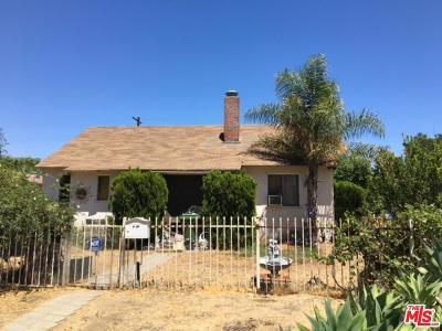 Van Nuys Single Family Home For Sale: Peach Avenue
