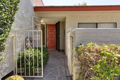Palm Springs Condo/Townhouse For Sale: 1063 South La Verne Way