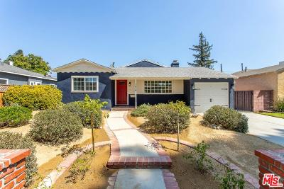 Burbank Single Family Home For Sale: 1618 North Pass Avenue