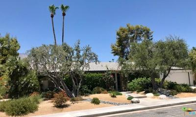 Palm Springs Single Family Home For Sale: 303 North Orchid Tree Lane