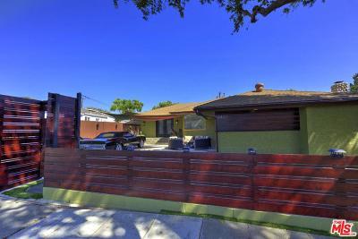 Culver City Single Family Home For Sale: 4442 Vinton Avenue