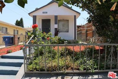 Los Angeles Single Family Home For Sale: 820 North St Louis Street