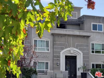 Condo/Townhouse For Sale: 4424 Whitsett Avenue #212