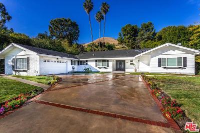 Woodland Hills Single Family Home For Sale: 5215 Del Moreno Drive