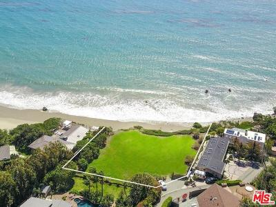 Malibu CA Residential Lots & Land For Sale: $8,950,000