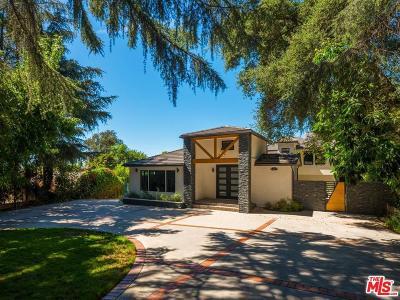 La Canada Flintridge Single Family Home Active Under Contract: 4743 Hillard Avenue