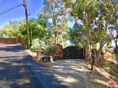 Malibu Residential Lots & Land For Sale: 2882 Hume Road
