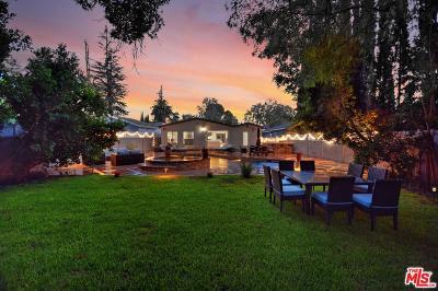 Studio City Single Family Home For Sale: 12741 Kling Street