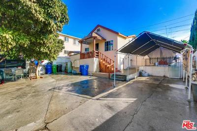 Los Angeles Single Family Home For Sale: 2934 Division Street