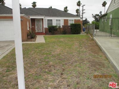 Single Family Home For Sale: 5249 Southridge Avenue