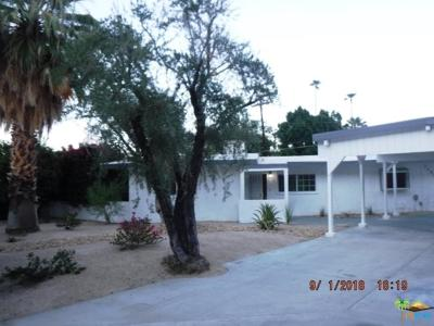 Palm Springs Single Family Home For Sale: 1580 South Via Soledad