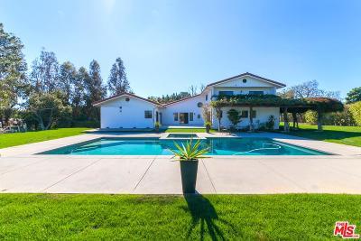 Malibu Single Family Home For Sale: 1720 Lechusa Road
