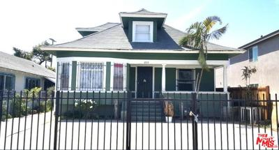 Los Angeles Single Family Home For Sale: 3757 Woodlawn Avenue