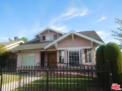 Los Angeles Single Family Home For Sale: 628 West 52nd Place