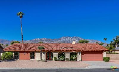 Palm Springs Single Family Home For Sale: 2045 South Pebble Beach Drive