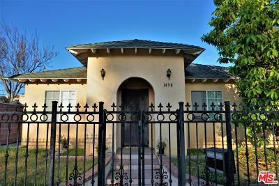 Long Beach Single Family Home For Sale: 1498 Temple Avenue