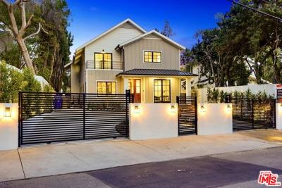 Los Angeles County Single Family Home For Sale: 1738 Nichols Canyon Road