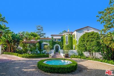 Los Feliz Single Family Home For Sale: 2075 De Mille Drive
