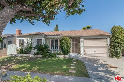 Culver City Single Family Home For Sale: 11919 Bray Street