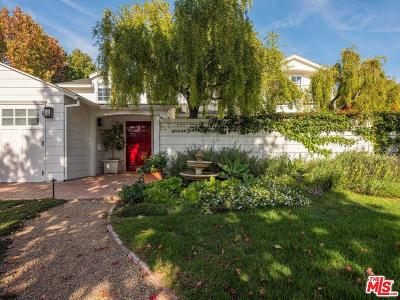 Pacific Palisades Single Family Home For Sale: 708 Ocampo Drive