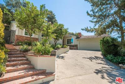 Los Angeles County Single Family Home For Sale: 2434 Benedict Canyon Drive