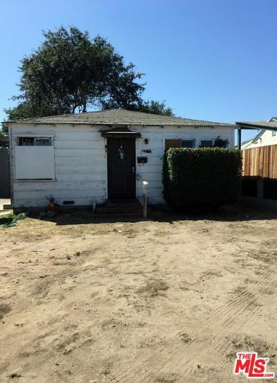 Inglewood Single Family Home For Sale: 10619 Felton Avenue