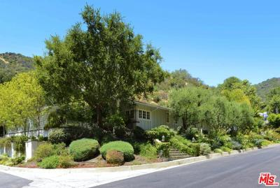 Los Angeles County Single Family Home For Sale: 4001 Mandeville Canyon Road