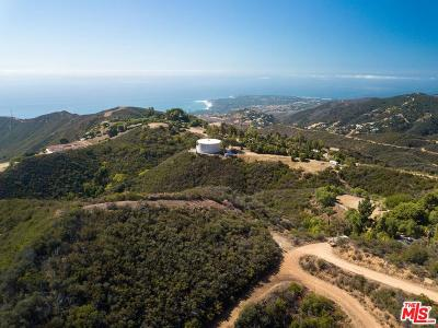 Malibu Residential Lots & Land For Sale: Baller Road