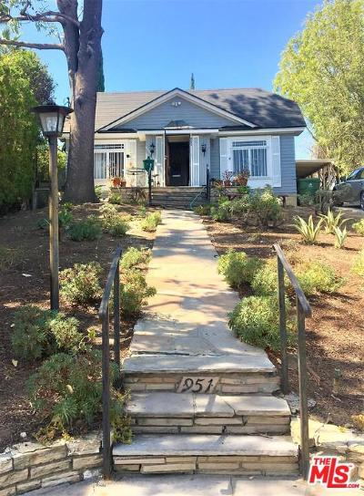 Single Family Home For Sale: 951 Micheltorena Street
