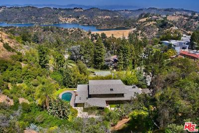 Single Family Home For Sale: 1740 Stone Canyon Road