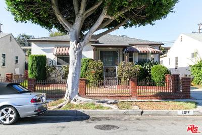 Inglewood Single Family Home For Sale: 2617 West 101st Street
