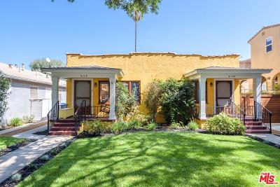 Los Angeles County Residential Income For Sale: 4118 Lincoln Avenue