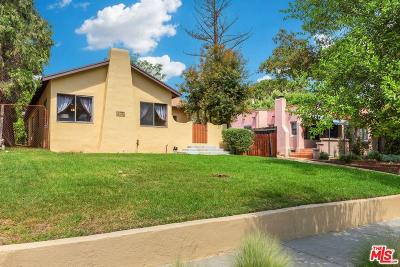 Altadena Single Family Home For Sale: 1739 Morada Place