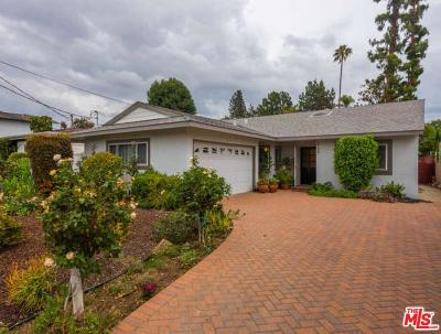Valley Village Single Family Home For Sale: 5706 Wilkinson Avenue