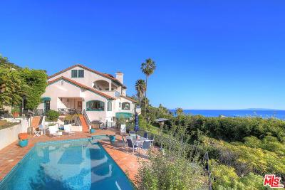 Malibu CA Single Family Home For Sale: $10,795,000