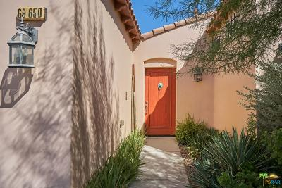 Single Family Home Sold: 69650 Camino La Strada