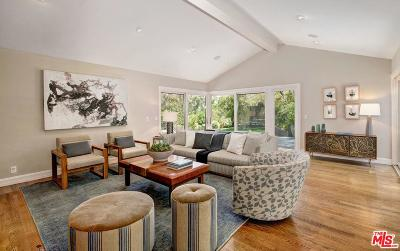 Los Angeles County Single Family Home For Sale: 1947 Mandeville Canyon Road