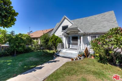 Los Angeles Single Family Home For Sale: 1037 South Bronson Avenue