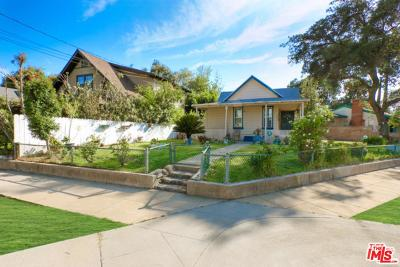 Pasadena Single Family Home For Sale: 1157 Forest Avenue