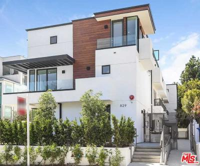 Los Angeles County Condo/Townhouse For Sale: 829 North Martel #2